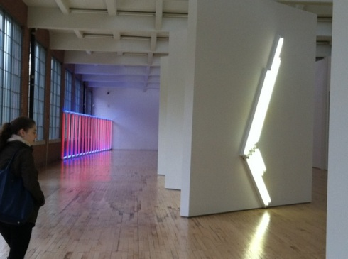Contemplating Dan Flavin at Dia Beacon