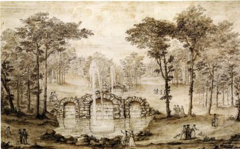 Rousham, Vale of Venus, Kent., 1738-41,Kent cat, p 24