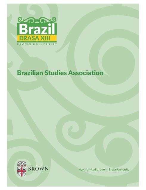 Brasa Program 2016 Brown U