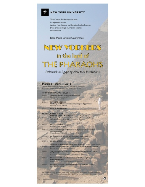 New Yorkers in the Land of the Pharaohs Final poster
