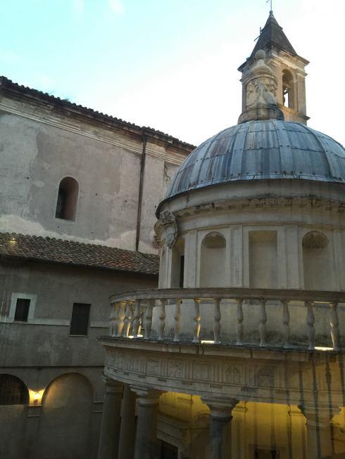 Bramante's Tempietto_Spanish Academy in Rome