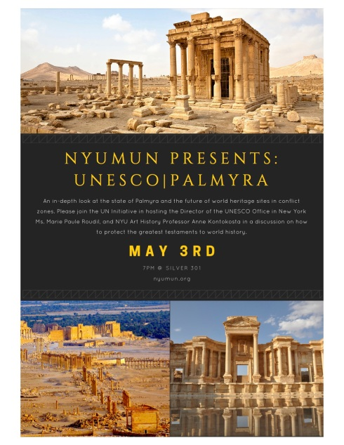 NYUMUN PRESENTS-UNESCO|PALMYRA