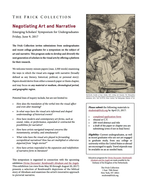 Negotiating Art and Narrative